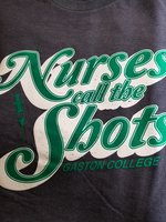 Gaston College Nurses Call the Shots T-Shirt