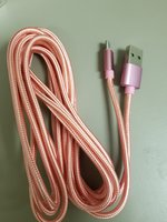 Braided Micro USB Cable 10ft