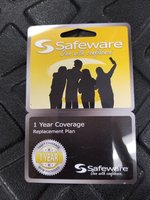 Safeware 1 Yr. Warranty