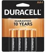 Duracell Copper Top AA 4pk