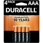 Duracell Copper Top AAA 4pk