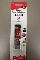 Pentel Super Hi-Polymer 0.5mm Lead Refill(30pcs)