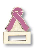 Prestige Medical Pink Ribbon Badge Tac