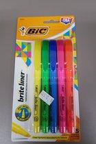 BIC Brite Liner Highlighter 5pk