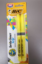 BIC Brite Liner Grip 2pk