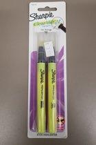 Sharpie Clear View Stick Highlighter 2pk