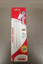 Pentel Clic Eraser Refill (2pk)
