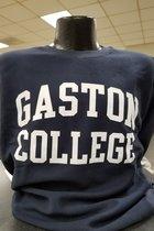 Gaston College Reverse Knit Crew Sweatshirt