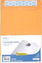 Mead Press-It Seal-It Envelope 5pk (9x12)