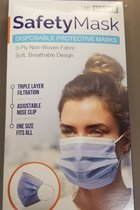 Emerge Disposable Face Mask Blue 10pk