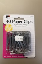 Charles Leonard Jumbo Metal Paper Clips(40pk)