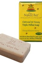 Naked Bee Oatmeal & Honey(Orange Blossom Honey) Triple Milled Soap