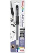 Pentel Arts Hyprid Technica Pigment Ink Pen