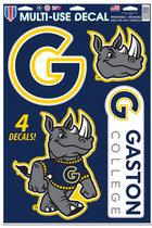 Gaston College Multi-Use Decal 4pk