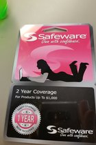 Safeware 2yr Warranty