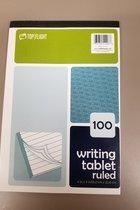 Top Flight Ruled Writing Tablet(100 sht)