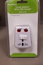 Travel Adaptor w/ USB Changer